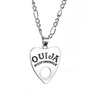 Jewelry - Ouija Pendant Chain Necklace Witchy Goth Dainty
